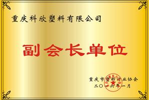 重庆塑料行业协会副会长单位